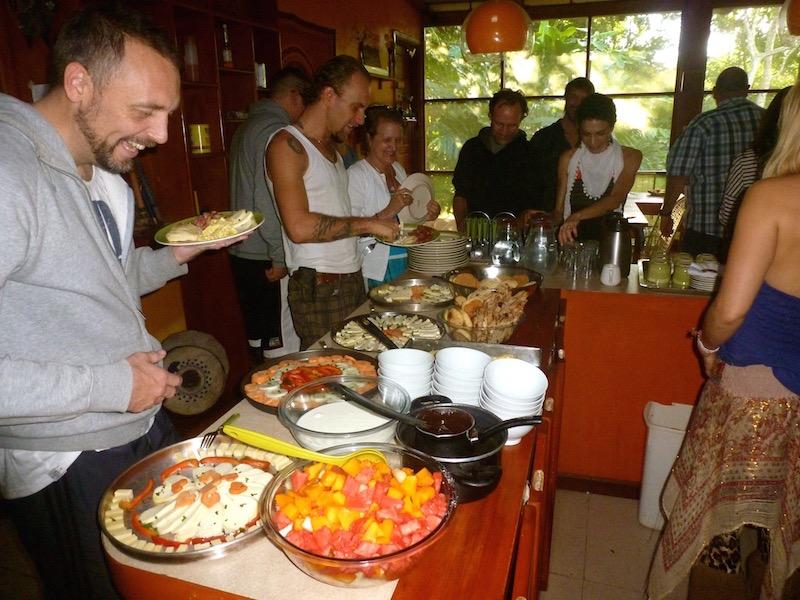 Celebration breakfast after the workshop