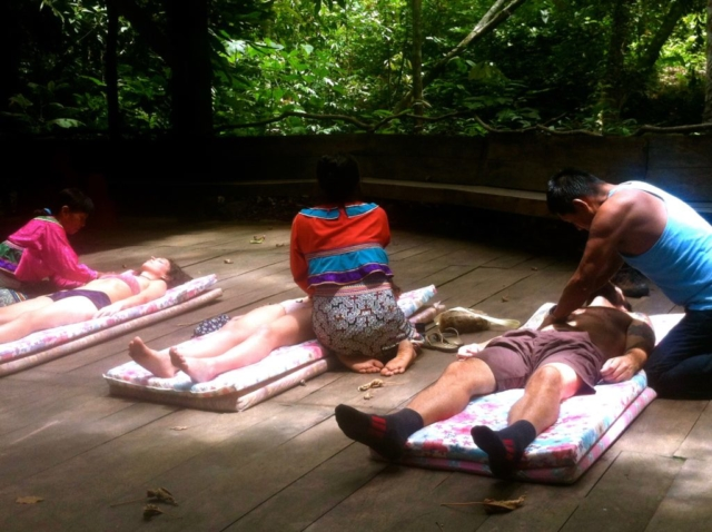 Energetic Massages by the Shipibo