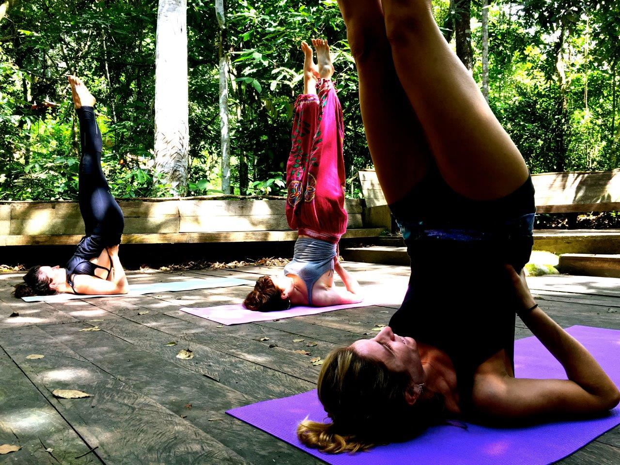 Yoga class by our certified yoga teachers