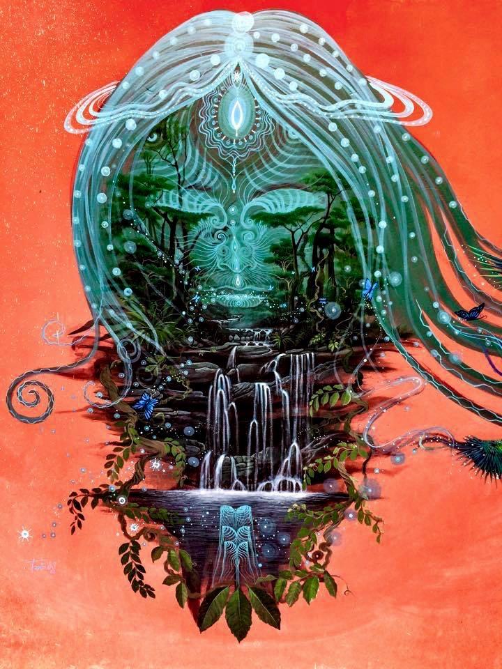 Juan Carlos Taminchi's finished mural