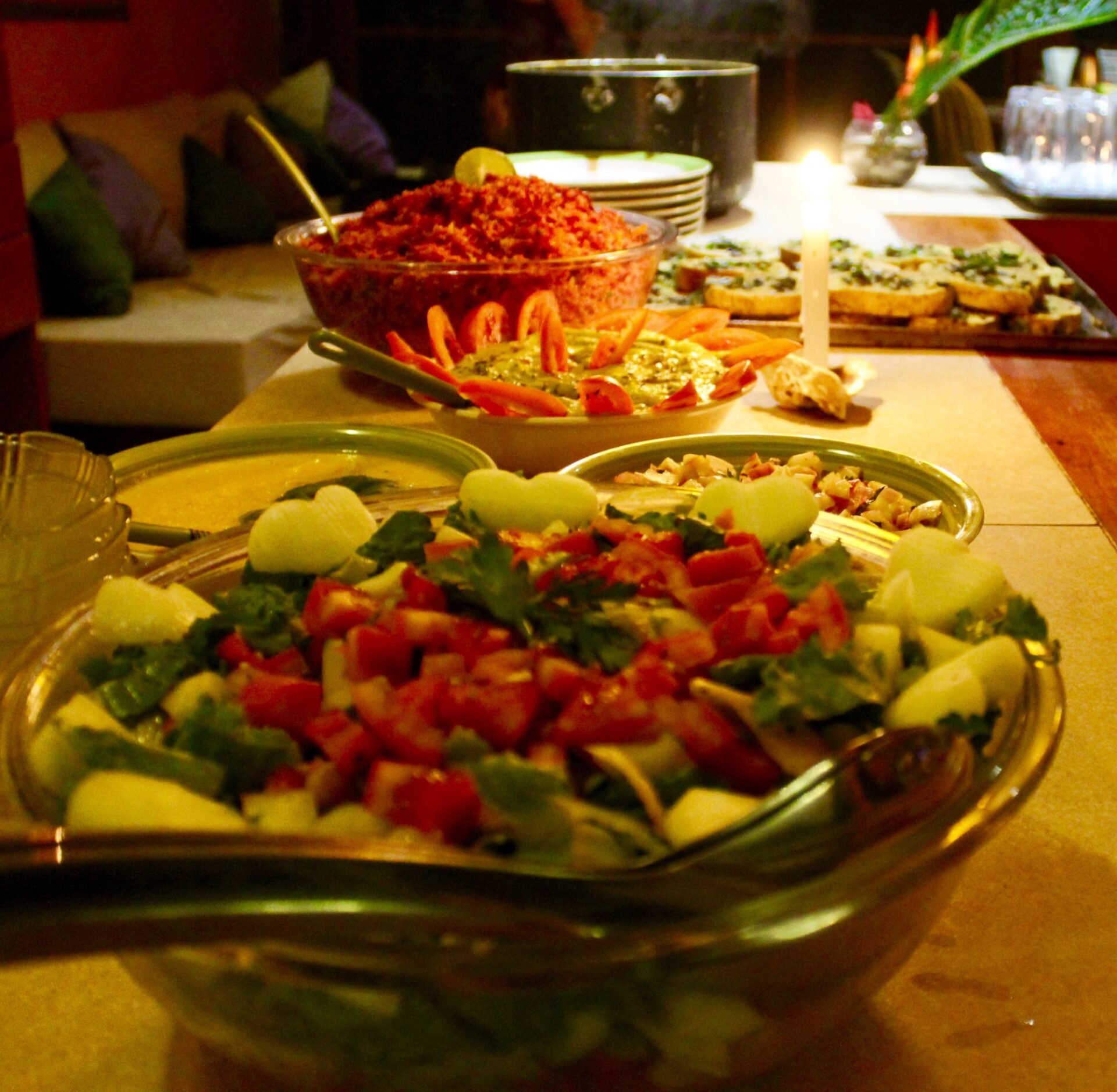 Delicious Ayahuasca diet food
