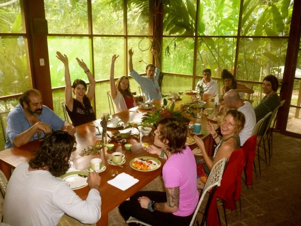 Ayahuasca diet breakfast
