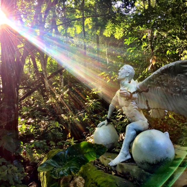 """""""Triumph"""" struck by sunlight, a breathtaking sight next to Okopua!"""